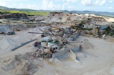 Μονάδα παραγωγής λατομικών υλικών - Ανδρολύκου
